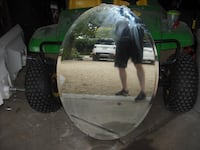 2 BEVELED MIRRORS EXCELLENT SHAPE NO CHIPS OR CRACKS 440..0 FOR BOTH Purcellville, VA, USA