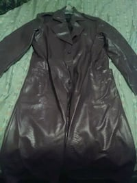 purple faux leather jacket Ellenville