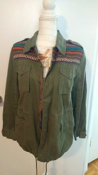$15 - Woven Tribal Safari Jacket - (Fixed Price) Toronto