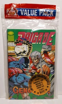 Sealed comic book pack