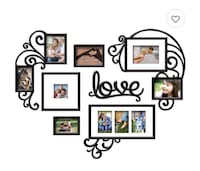 heart shaped picture frame Arlington Heights