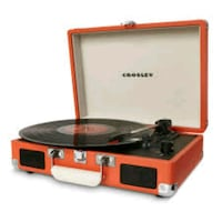 crosley vinyl gramophone orange Burlington, L7L 4L9