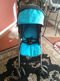 teal and gray umbrella stroller Sterling, 20164