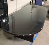 Large conference table with glass top Ontario, 91761