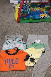 Baby clothes, 9 pieces Wyoming, 49519