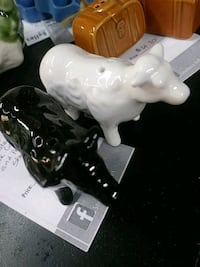 Black and white cow salt and pepper shaker Gardendale, 35071