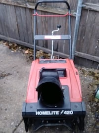 Snow blower in good condition