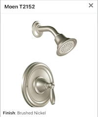 Four Moen Banbury shower and tub faucet Vienna, 22182