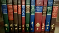 """Set of 11 hardcover books """"Classic Library """" Vaughan, L0J"""