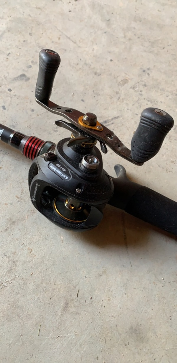 Vendetta Rod and Ardent Reel and Tacklebox