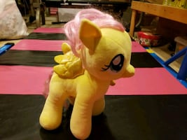 my little pony from Build a Bear