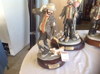 Emmett Kelly music boxes collectibles Stuart, 34997