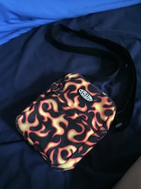 Petals & Peacocks Flames Shoulder Bag Los Angeles, 90022
