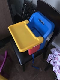 Toddler's blue and yellow plastic chair Waldorf, 20602