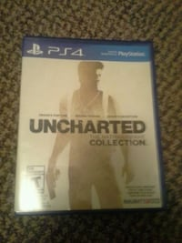 Uncharted The Nathan Drake Collection PS4 game case Port Coquitlam, V3B 2H5