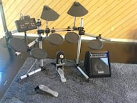 Yamaha DTX drum set with Simmons applifer  West Des Moines, 50266