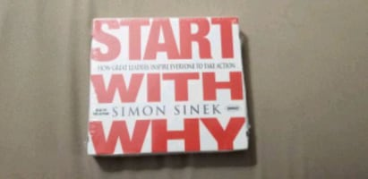 Start with Why Audiobook Book on CD by Simon Sinek