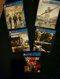 Ps4 Games perfect condition Grass Valley, 95945