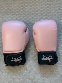 Boxing gloves- pink