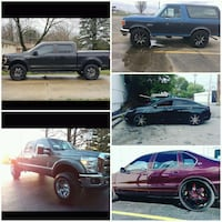 Rims and tire packages only $53 down no credit chk