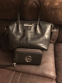 black leather Michael Kors tote bag Howell, 48843