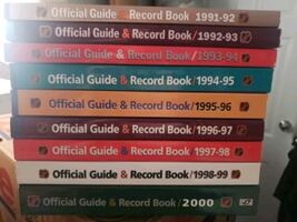 NHL Hockey Guide and Record books