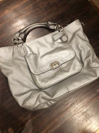 women's gray leather shoulder bag Woodbridge, 22192