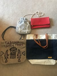Assorted summer bags