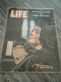 Life Magazine Martin Luther King funeral Los Angeles, 90024