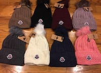 assorted color knit cap lot Burke, 22015