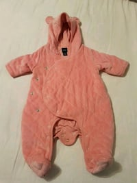 Baby outfit- quilted bear footed one-piece Toronto, M1T 3N2