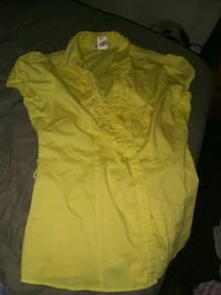 yellow button-up shirt Pacific, 63069