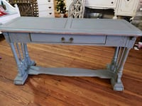 Gray distressed Shabby Chic console / sofa table Monroe, 30655