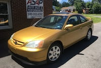 2001 Honda Civic EX (Rare Gold w/ Leather)! Stephens City