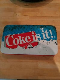 Coke tin New Hamburg, N3A 1P5