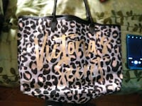 black and white leopard print tote bag Midlothian, 23114