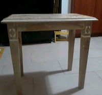 Beautiful brand new side table hand carved Pine Sunny Isles Beach, 33160