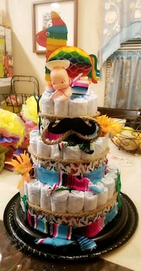 Customized Diaper cakes and much more .