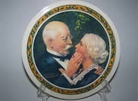 NORMAN ROCKWELL PLATE COLLECTION Martinsburg