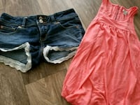 Size xs top and size o shorts from american eagle Tuscaloosa, 35405
