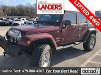 2009 Jeep Wrangler Unlimited Sahara Rogers, 72758