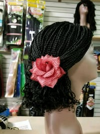 women's black and pink floral dress Fort Erie, L2A 5A4