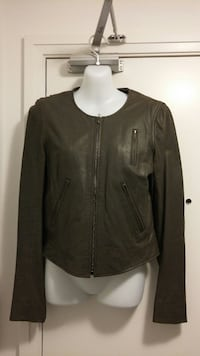 Theory leather jacket - S Toronto, M8Y 3H8