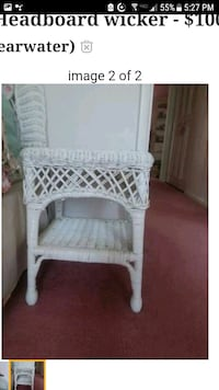 white wicker 3-layer rack Liverpool, 13088
