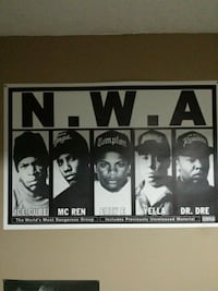 N.W.A. poster St. Catharines, L2R 3M2