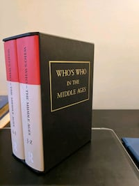 Who's Who In The Middle Ages Encyclopedia set. Toronto, M4Y 1B9