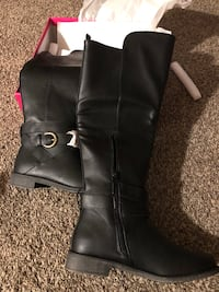 Knee high Black women's boots size 7.5 *price drop* Anchorage, 99507
