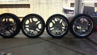 24inch rims for sale with all 4 center caps Elk Grove, 95624