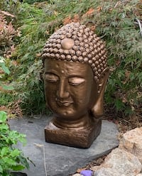 Bronze Buddha Head fo Sale Lake Country, V4V 2P3