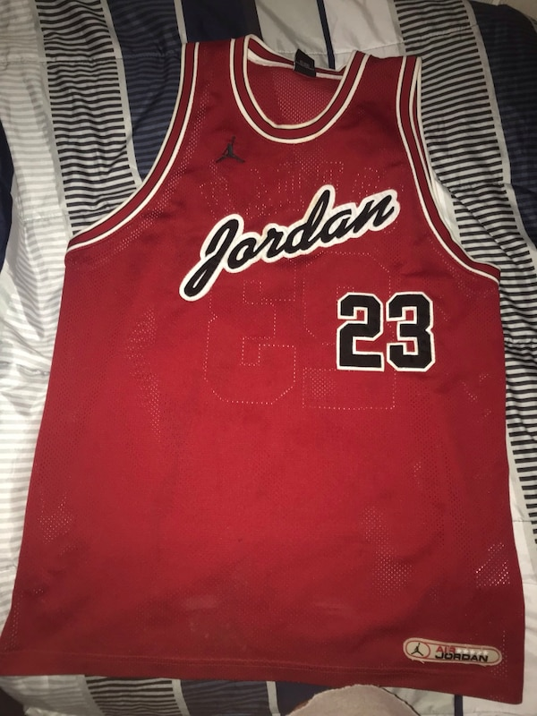 huge selection of 5a64d 111ac MJ Authentic Chicago Bulls Jersey *one of a kind*